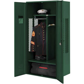 Penco 6KGDA00812 Patriot Gear Locker 24x24x72 Ready To Assemble Hunter Green