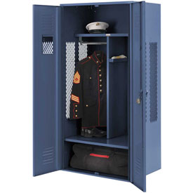 Penco 6KGDA10806 Patriot Gear Locker 30x24x72 Ready To Assemble Marine Blue