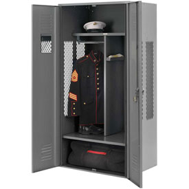 Penco 6WGDA20C028 Patriot Gear Welded Locker 36x24x76 Gray