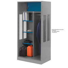 Penco 6WTDA10C028 Patriot Turnout Welded Locker 30x24x76 Gray