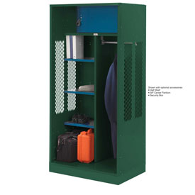 Penco 6WTDA20C812 Patriot Turnout Welded Locker 36x24x76 Hunter Green