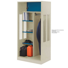Penco 6WTDA40C073 Patriot Turnout Welded Locker 48x24x76 Champagne