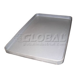 Rotationally Molded Plastic Tray 46-3/4x35-1/2x1-3/4 Gray