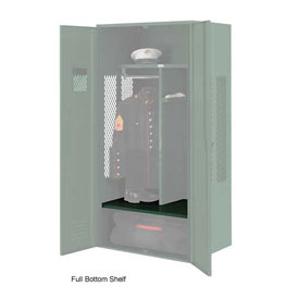 Penco 6SHX532C812 Full Bottom Shelf For Patriot Locker, 30Wx24D Hunter Green
