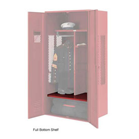 Penco 6SHX534C722 Full Bottom Shelf For Patriot Locker, 48Wx24D Patriot Red