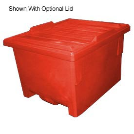 Bayhead KP-50-RED Nesting Pallet Container 50x40x33 1000 Lb Cap. Red