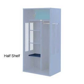 Penco 6SHX521C806 Half Shelf For Patriot Locker, 12Wx15D Marine Blue