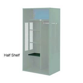 Penco 6SHX521C812 Half Shelf For Patriot Locker, 12Wx15D Hunter Green