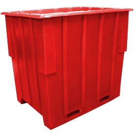 Bayhead KC-52-RED Nesting Pallet Container 57x41x53 1500 Lb Cap. Red