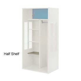 Penco 6SHX524C073 Half Shelf For Patriot Locker, 21Wx15D Champagne