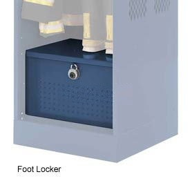 Penco 6ACXAB95H806 Foot Locker For Patriot Locker, 36x24x12 Marine Blue