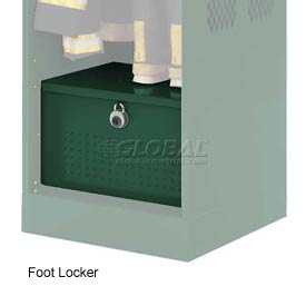 Penco 6ACXAB95H812 Foot Locker For Patriot Locker, 36x24x12 Hunter Green