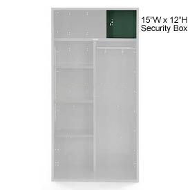 Penco 6ACXAB98H812 Security Box For Patriot Locker, 15Wx12H Hunter Green
