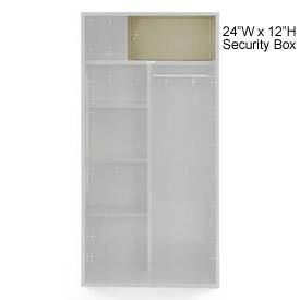 Penco 6ACXAB99H073 Security Box For Patriot Locker, 24Wx12H Champagne