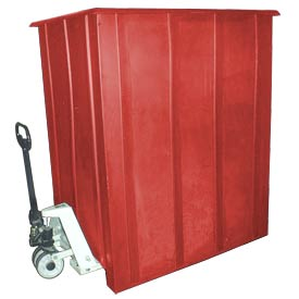 Bayhead LMM-1RED Pallet Container 60x46x72 1500 Lb Cap. Red