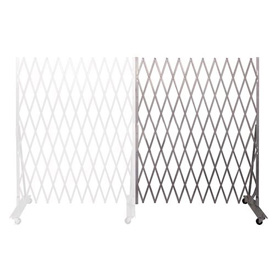Folding Security Gate Add-on 6'Hx6'W In-Use