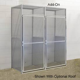 Hallowell BSL483690-R-1A-PL Bulk Storage Locker Single Tier Add-On 48x36x90