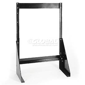 "Quantum Single Sided Floor Stand QFS124 for Tip Out Bins - 24""H"