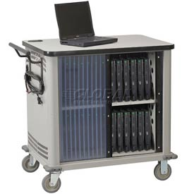 Datum 32-Laptop Storage and Charging Cart, Series CSC-PC32UL