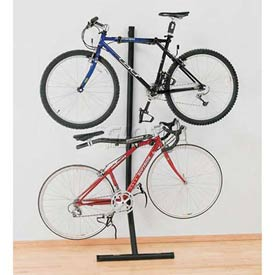 Vertical Indoor Two Bike Bunk