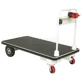 Wesco® Self-Propelled Battery Powered Platform Truck 272416 30x60 1100 Lb.