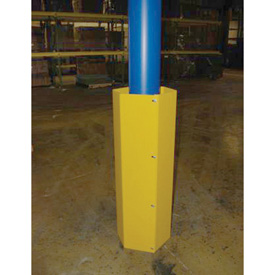 Hexagonal Steel Column Guard 60""
