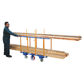 Vestil Horizontal Lumber Cart PANEL-H 2000 Lb. Capacity