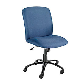 Elite Big and Tall High Back Chair - Blue Fabric
