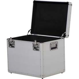 "Vestil CASE-L Aluminum Storage Case Large 24"" x 18"" x 20"""
