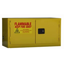 "Global&#8482 Stackable Flammable Cabinet - Manual Close Double our 15 Gal - 43""W x 18""D x 22""H"