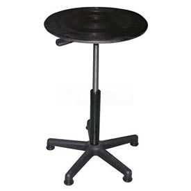 "Vestil Manual 18"" Diameter Pedestal Turntable TT-18-CPED 20"" to 30""H 300 Lb."