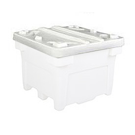 Bonar Plastics Lid PC-3000LID -A001 for FDA Bulk Container 43x43 Natural