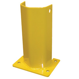 "Husky Rack & Wire I5712P Pallet Rack Frame Guard 5""W x 4""D x 12""H - Yellow"