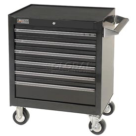 "Homak 27"" Professional Series 6 Drawer Rolling Cabinet"
