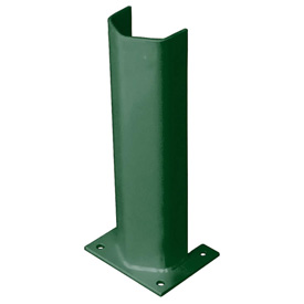 "1/4"" Thick 18"" H Steel Post Protector Green"