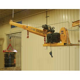 Caldwell PB-60-PLB Powered Telescopic and Pivoting Forklift Jib Boom Crane