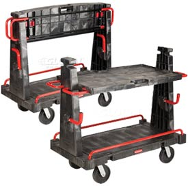 Rubbermaid® 4465 Convertible A-Frame Truck 2000 Lb. Capacity
