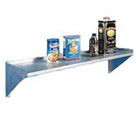 "Aero Manufacturing 2W-1284 84""Wx12""D Aerospec SS NSF Wall Shelf"