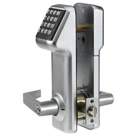 Access Cylindrical Lock Interchangeable Core 160 Codes, Satin Chrome