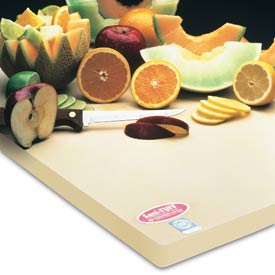 "Sani-Tuff® All-Rubber Cutting Board - 18"" x 24"" x 3/4"""