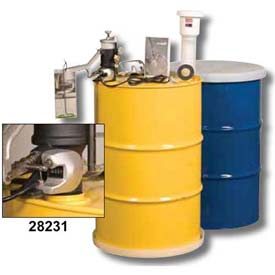 Justrite Aerosolv Dual Compliant Can Disposal System w/ Counter, 28231