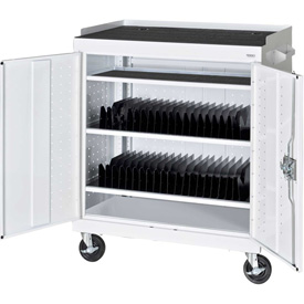 Sandusky Tablet Security Cart for 40 Tablets