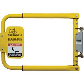 "Erectastep 11792 YellowGate Universal Swing Safety Gate, 16""-36"" Length"