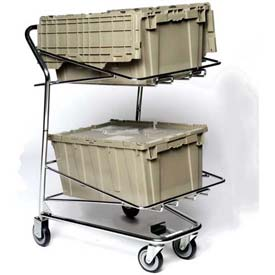 "Tote Cart For Two 30""Lx26""43""H Containers, Good L Corp. ®"