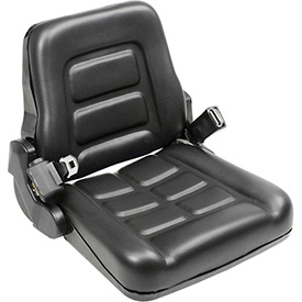 Best Value Vinyl Forklift Truck Seat with Seat Belt