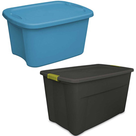 Stack And Nest Industry Storage Totes With Lids