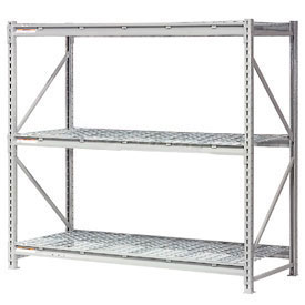 Global - Extra High Capacity Metal Bulk Storage Rack With Wire Deck