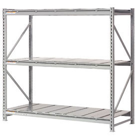 Global - Extra High Capacity Metal Bulk Storage Rack With Steel Deck