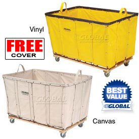 Canvas & Vinyl Bulk Basket Trucks