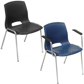 Interion® Merion Vented Back Molded Chairs